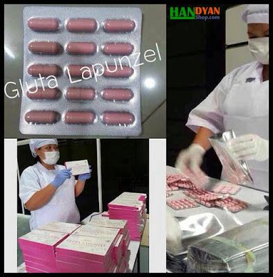 Jual Gluta Lapunzel Suplemen Pemutih Tubuh Original