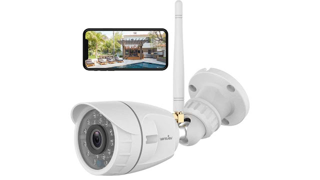 Wansview 1080P Wireless WiFi Home Surveillance