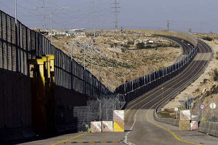 """A photo for Segregated route 4370 in Occupied West Bank  """"AP"""""""