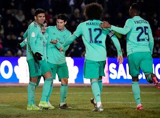 Unionistas 1-3 Real Madrid