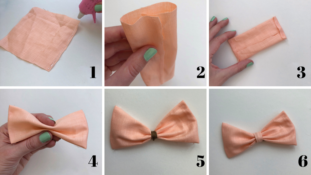 How to make your own DIY hair accessories, including hair scrunchies and two types of bow clips, with a simple no-sew method using a glue gun. The perfect craft for beginners, this step by step tutorial will show you exactly how to make your own hair bands and clips for pennies.