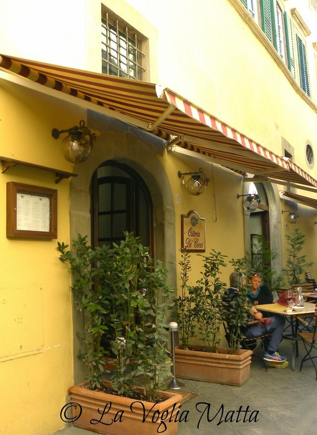 Osteria De' Cenci Arezzo