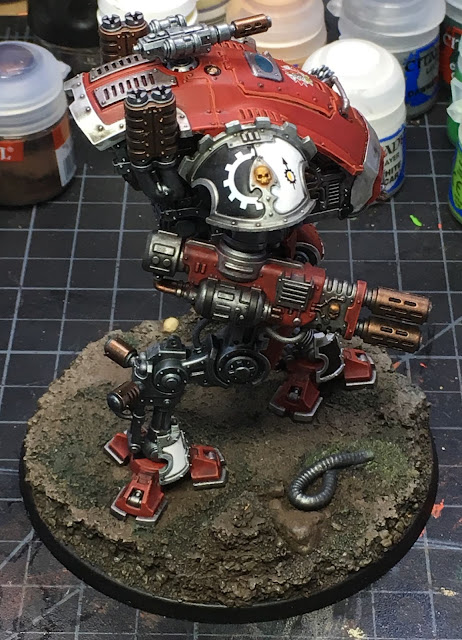 Armiger Warglaive from House Taranis WIP right