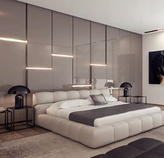 +30 Modern bedroom wall design ideas 2019