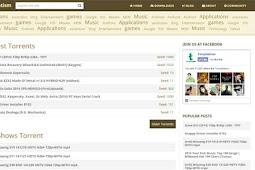 Template Blog Mirip Torrent (Torrentism) Gratis Download