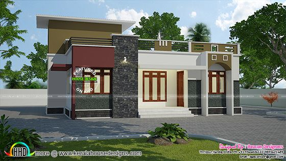 988 sq-ft budget home single storied