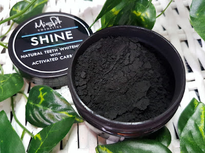 Misfit Cosmetics Activated Charcoal Teeth Whitening Powder