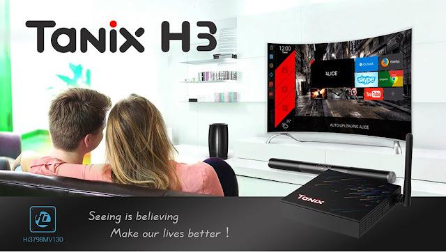 TANIX H3 TV Box - Mais uma novidade da Tanix