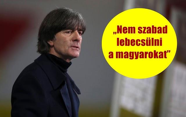 """""""Nem szabad lebecsülni a magyarokat"""" - a németek kapitánya már az Eb-ről beszélt"""