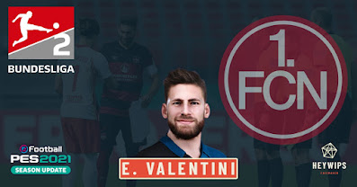 PES 2021 Faces Enrico Valentini by Heywips