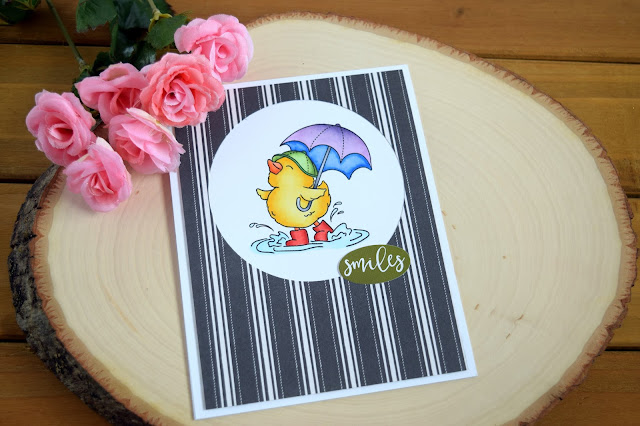 Card with March 2018 Simon Says Stamp Choose Joy Card Kit by Jess Crafts