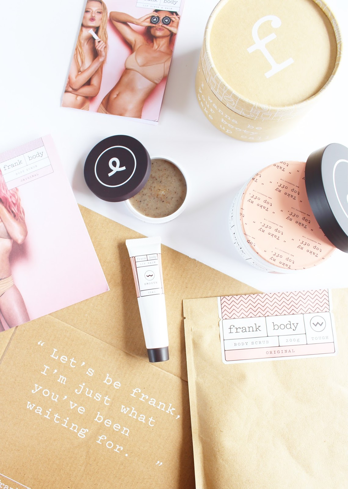 FRANK BODY | Product Overview + Reviews - Coffee Scrub, Body Cream, Lip Balm, Lip Scrub - CassandraMyee