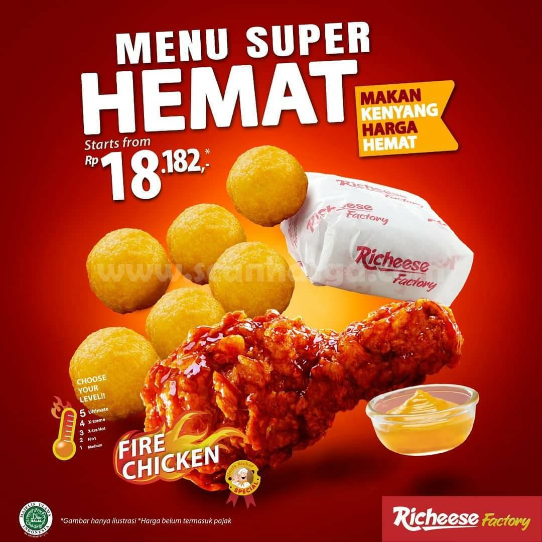 Promo Richeese Factory Hari ini! Paket SUPER HEMAT cuma Rp 18.182