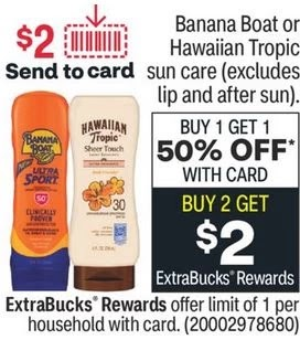 Banana Boat Kids Stick CVS Deals 7/11-7/17