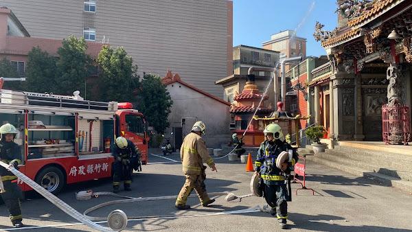 大葉大學推廣防災教育 協助新竹關西消防演練