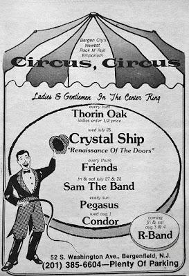 Circus Circus band lineup