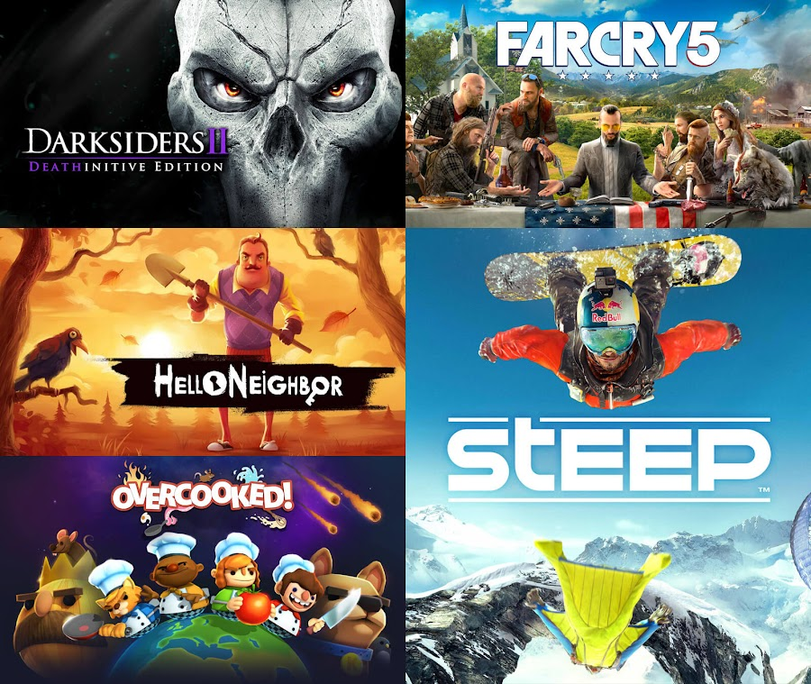epic mega sale games summer 2020 darksiders 2 deathinitive edition far cry 5 hello neighbor overcooked steep