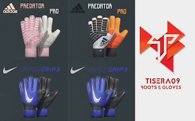 PES 2019 / PES 2018 Mini GlovePack by Tisera09