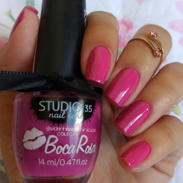 Coleção boca rosa studio 35