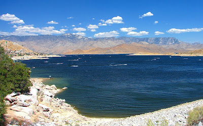 Lake Isabella is a beautiful place to camp, kayak, fish... and have a company event!