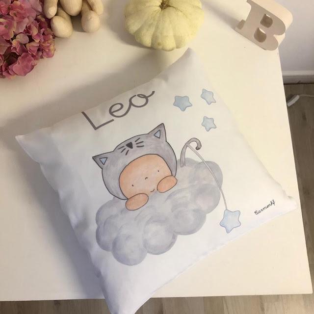 Cojín personalizado para bebé