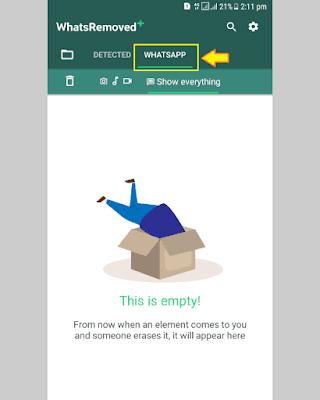 Cara Melihat Pesan WhatsApp yang Dihapus - 7