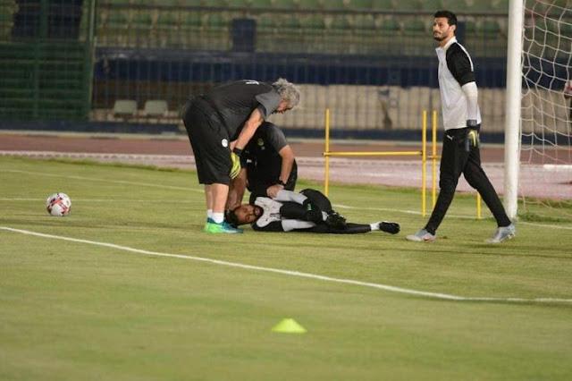 عاجل إصابة محمود جنش بقطع فى وتر إكليس فى معسكر المنتخب