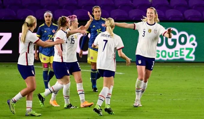 Selección Colombia Femenina Fue Goleada Por Estados Unidos En Amistoso.