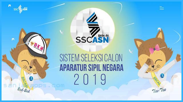 jasa pendaftaran cpns 2019 2020 sscasn