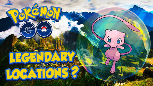 Could The Pokemon Go Legendaries Be At These Locations?