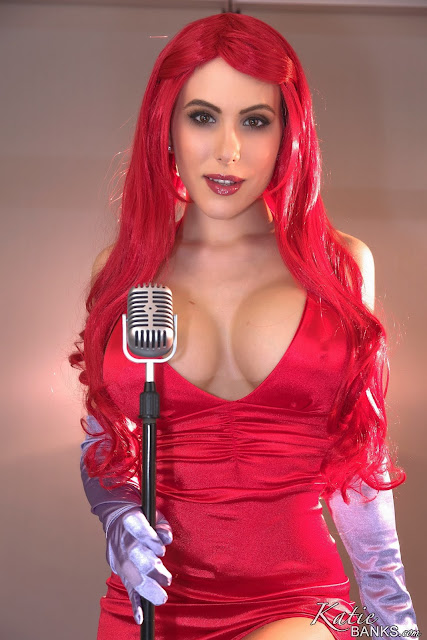 Katie banks jessica cosplay sexy big boobs pose