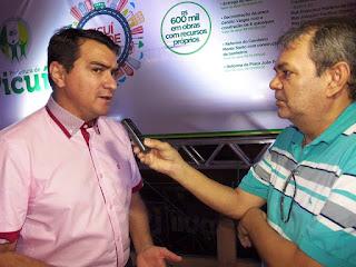 Prefeito de Picuí anuncia pavimentação de mais 4 ruas, agora no bairro Monte Santo