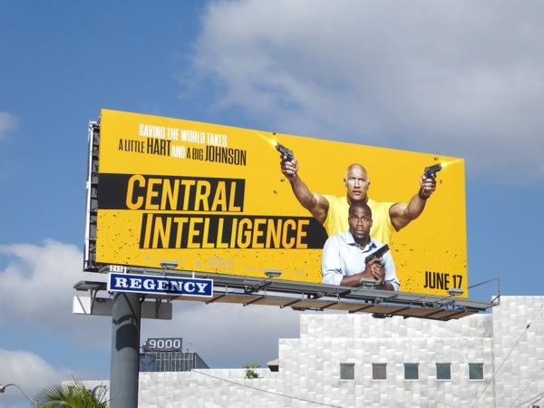Central Intelligence movie billboard