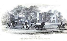 George IV driving his low phaeton in Windsor Park  from Memoirs of George IV by R Huish (1830)