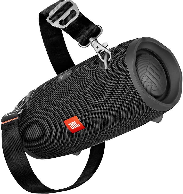 JBL Xtreme 2 Speaker with belt (side view)