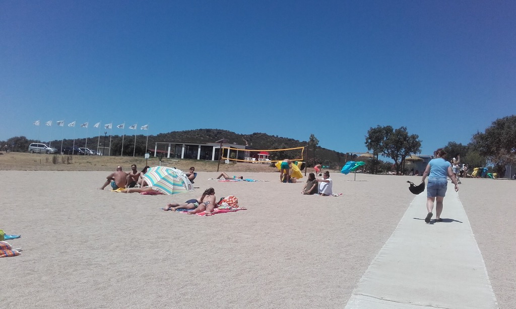Areal da Praia Fluvial