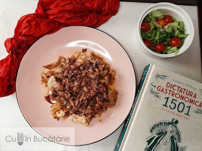 Tocană de rămășițe- Rămășițe de friptură de pasăre cu sos italienesc