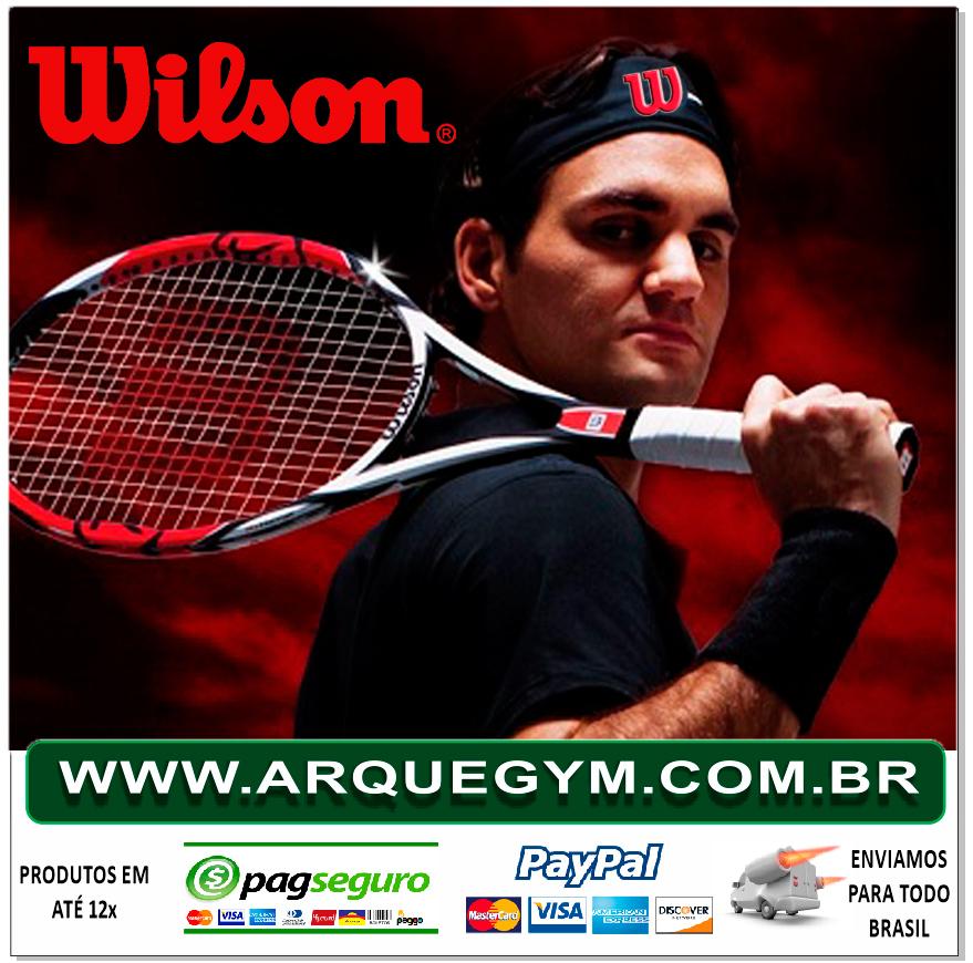 25086602cb ... Produtos de qualidade bem conhecida a Wilson é uma das grandes marcas  que ficou nossa parceira instantaneamente
