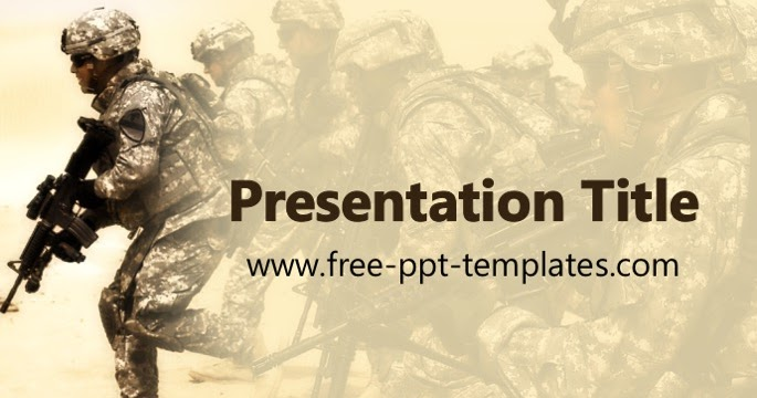 Military ppt template toneelgroepblik Image collections
