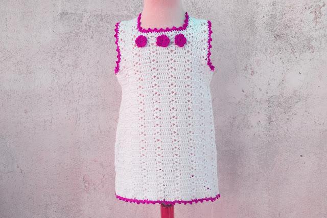 6 Crochet Imagenes Sencillo vestido verano a crochet y ganchillo por Majovel Crochet