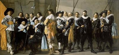 Frans Hals,Pieter Codde - De magere compagnie,1637.