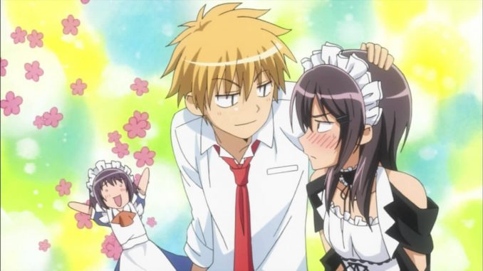 Kaichou wa Maid-sama! BD Episode 01-26 BATCH Subtitle Indonesia