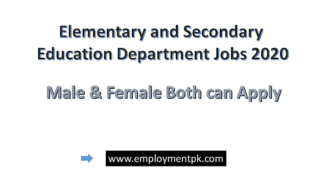 Elementary-and-Secondary-Education-Department-Jobs-2020