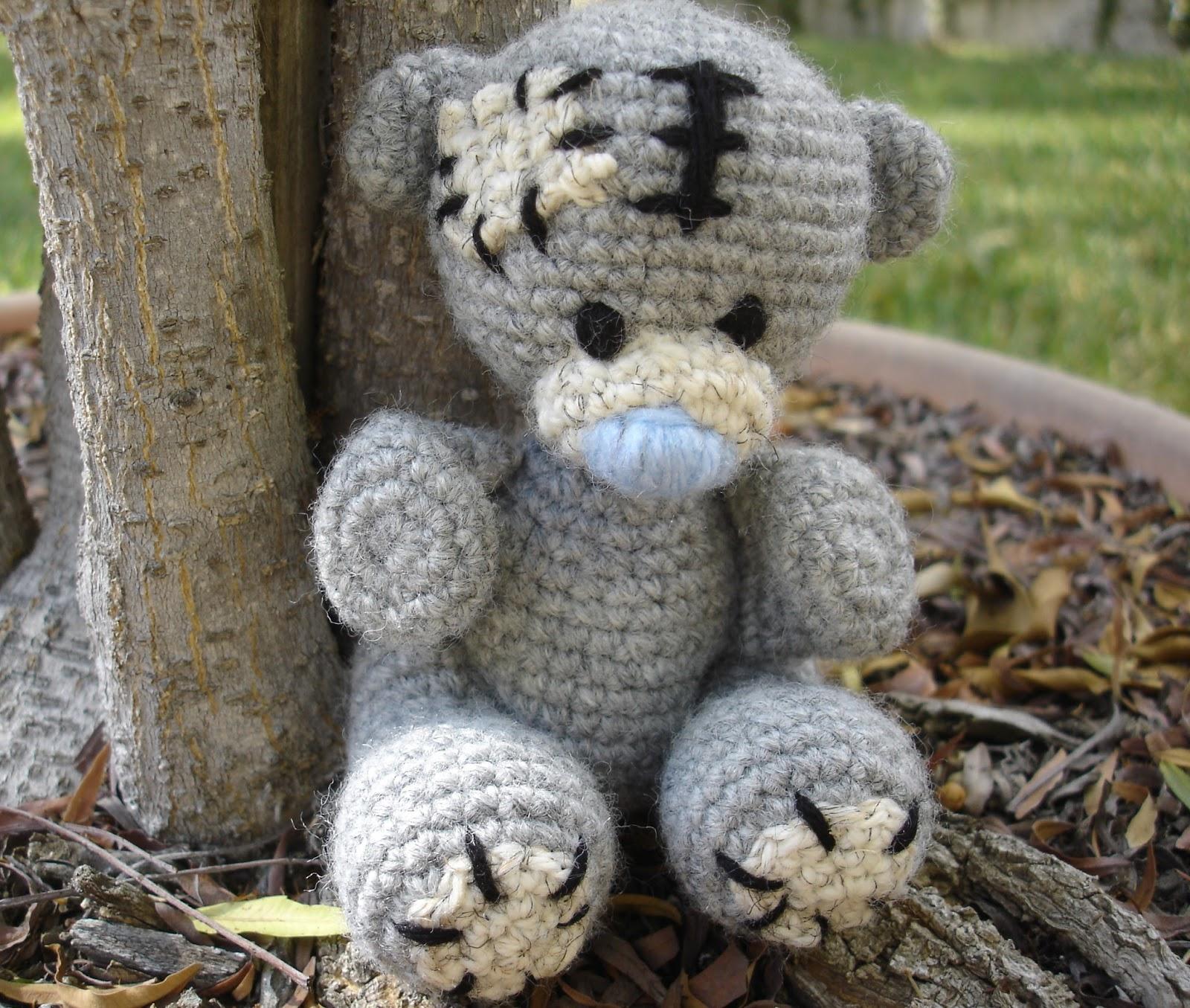 Free patterns by h tatty teddy inspired bear tatty teddy inspired bear bankloansurffo Choice Image