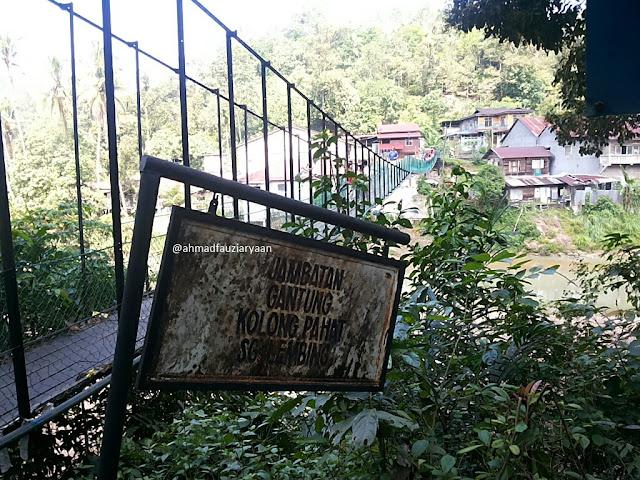 Jambatan Gantung Kolong Pahat