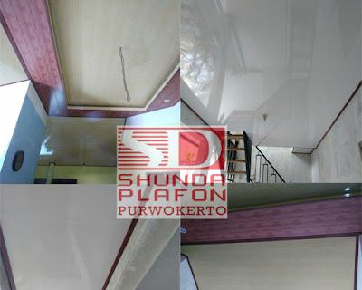 Pemasangan Plafon Pvc Shunda di Rumah Dokter Lili