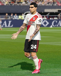 PES 2020 Faces Enzo Perez by Rachmad ABs