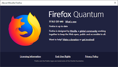 About Firefox Quantum 57