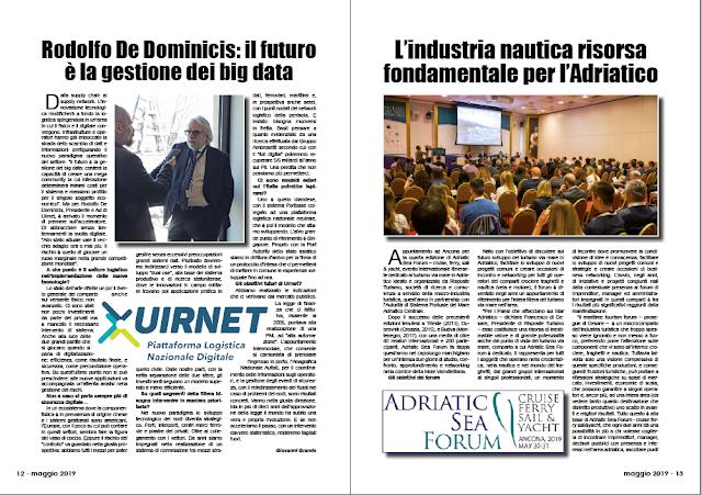 MAGGIO 2019 PAG. 12 - Rodolfo De Dominicis: il futuro è la gestione dei big data