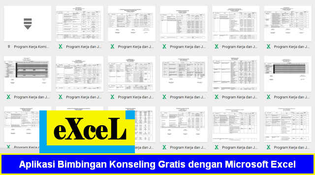 Aplikasi Bimbingan Konseling Gratis dengan Microsoft Excel xls xlsm